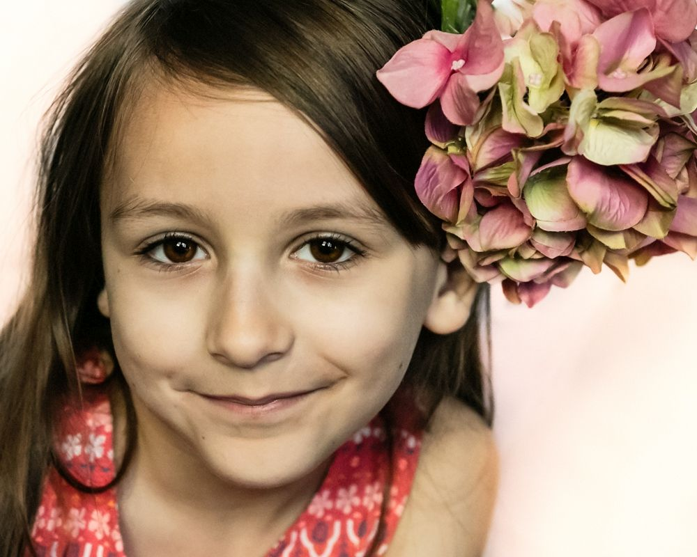 Contemporary Glamour Beaut Shot child portrait