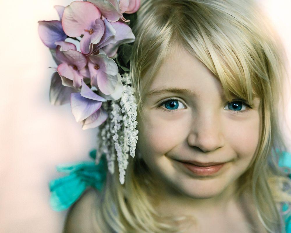 Fine Art Contemporary Glamour Child Portrait