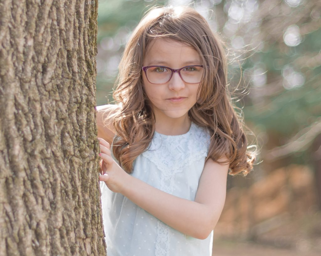 Outdoor Fine Art Child Portrait in Reading, PA