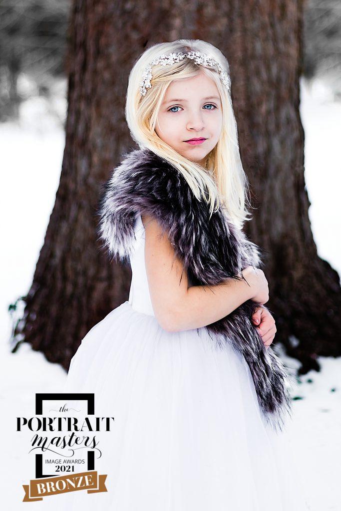 Winter Child Portrait in Berks County, PA