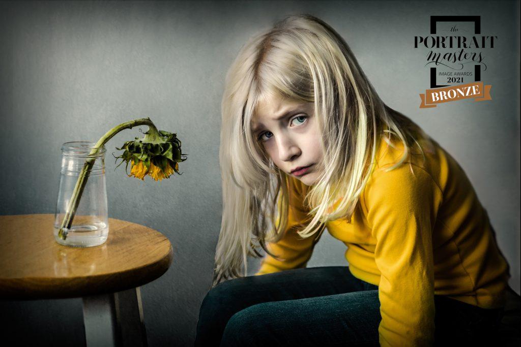Creative Child Portrait in Berks County, PA