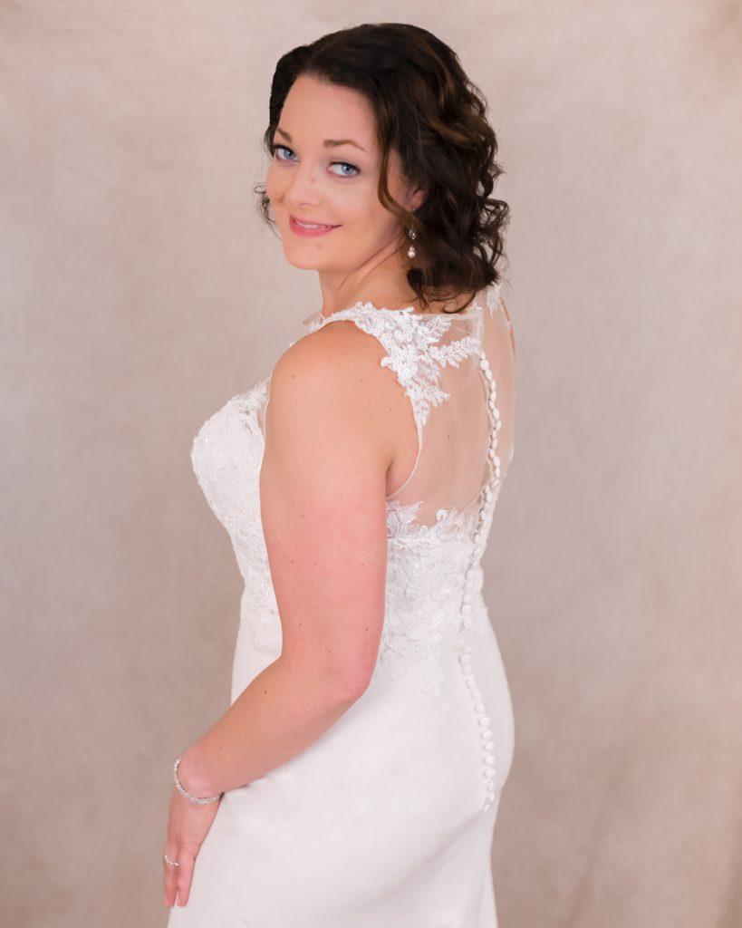 Glam the dress shoot wedding dress studio photoshoot in Berks County, PA
