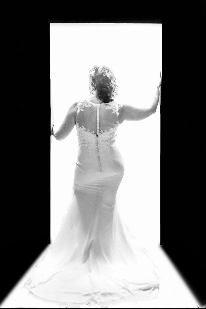 Glam the dress studio shoot wedding dress in Berks County, PA